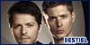 Castiel and Dean Winchester: