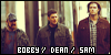 Singer, Bobby, Dean Winchester and Sam Winchester:
